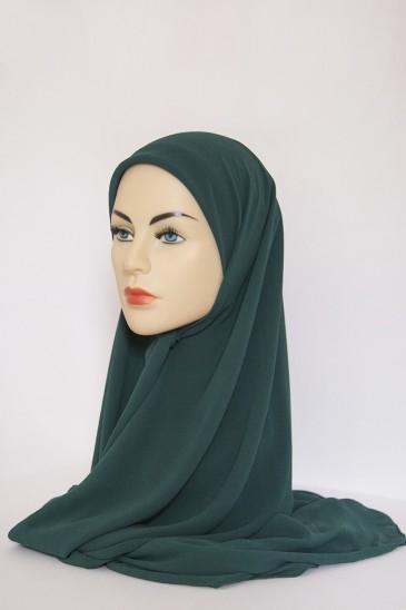 Hijeb Basic Carré Vert Sapin pas cher & discount