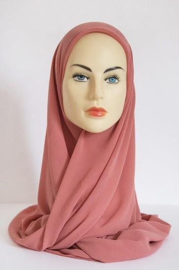Hijeb Basic Carré Pêche pas cher & discount