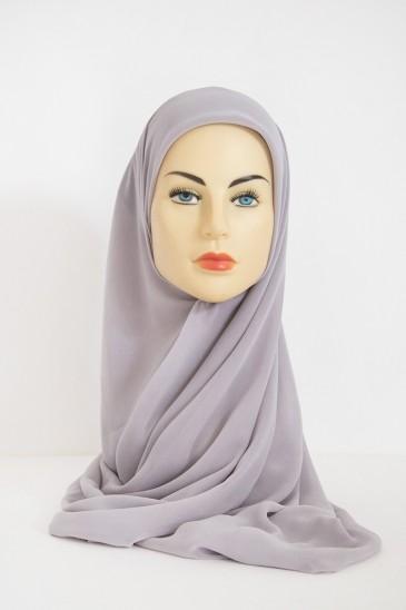Hijeb Basic Carré Gris Perle pas cher & discount
