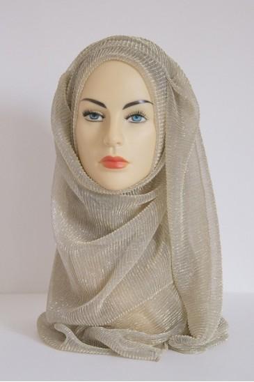Hijab Crystal Doré pas cher & discount
