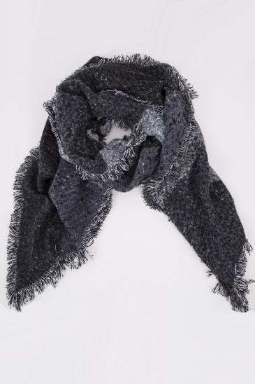 Echarpe ELENA noir/gris pas cher & discount