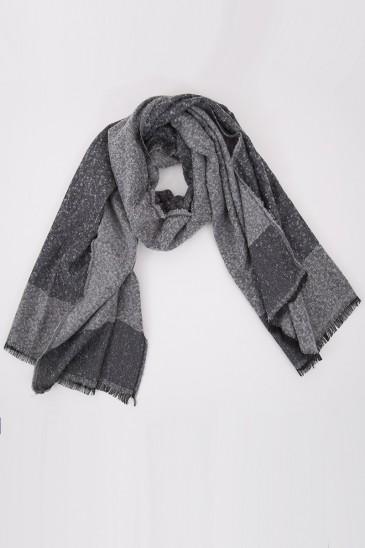 Echarpe NEIGE gris pas cher & discount