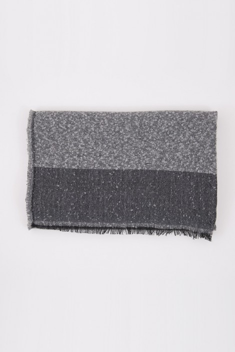 Echarpe NEIGE gris