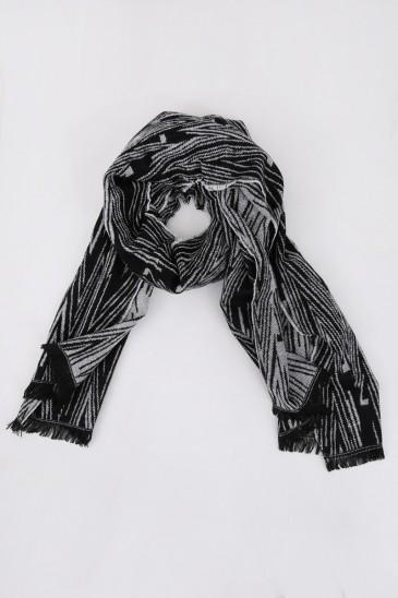 Echarpe Estrella Noir pas cher & discount