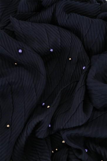 Hijeb SAFIYA perle Bleu marine pas cher & discount
