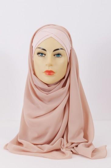 Hijeb Lestonia - Nude pas cher & discount